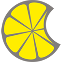 MacLemon Logo, a bitten slice of lemon